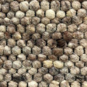 Wollen vloerkleed Vicenza 125 Licht Bruin- Interieur05