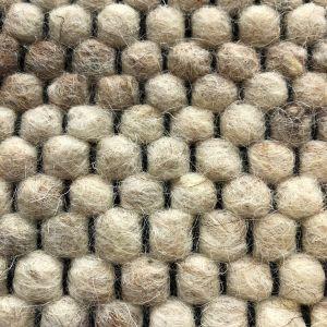 Wollen vloerkleed Vicenza 12 Licht Bruin Mix - Interieur05
