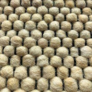 Wollen vloerkleed Vicenza 160 Geel - Interieur05