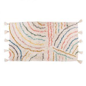 Kinder vloerkleed Kidsdepot Berber Pastel 80x150
