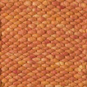 Perletta Vloerkleed Wol Limone Oranje 22