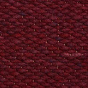 Perletta Vloerkleed Wol Limone Bordeaux Rood 91