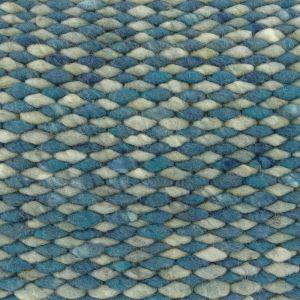 Perletta Wollen vloerkleed Limone Mix 154 + 343 nieuw Structures