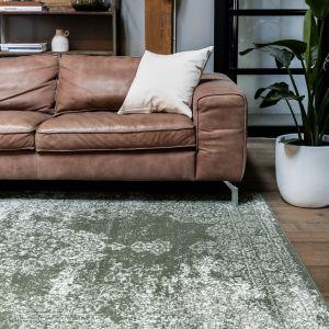 Vintage Vloerkleed  Bloom - Groen - EVA Interior