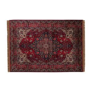 Vintage Vloerkleed Manami Rood met franjes - Tier