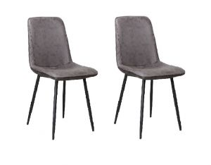 Merlot Dining Chair Douce Anthracite - No Limits Set van 2