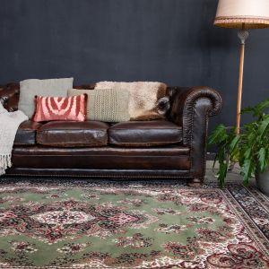 Vintage vloerkleed Nain Perzisch Groen