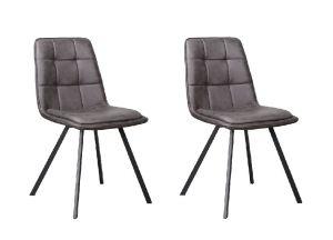 Harvey Dining Chair Douce Anthracite- No Limits Set van 2