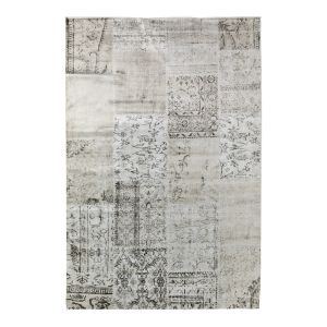 Vloerkleed patchwork blocks cream/sand - interieur05