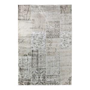 Vloerkleed Patchwork Blocks  Beige/sand - interieur05-185 x 275 cm - (L)