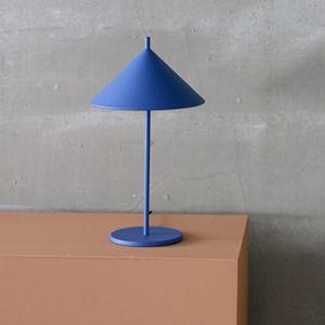 HKliving tafellamp Triangle  Blauw/Kobalt