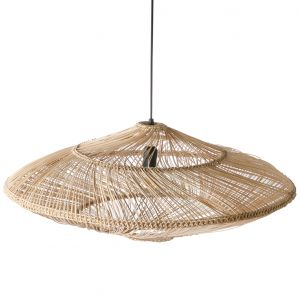 HKLiving wicker pendant lamp oval natural