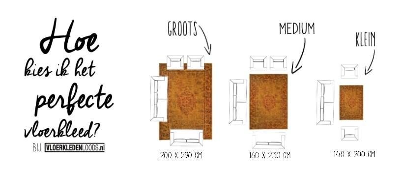 Hoe kies ik een vloerkleed? Bij Vloerkledenloods.nl